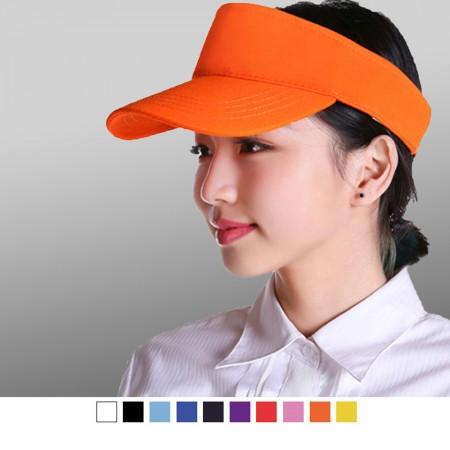 【晶輝】AA006-簡約純棉空頂帽