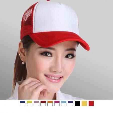 【晶輝】AA007-DIY手繪網帽男女個性訂做貨車帽