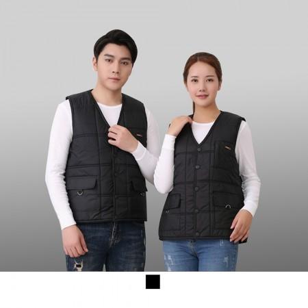 【晶輝】CH235-工程裝潢維修鋪棉加厚保暖背心