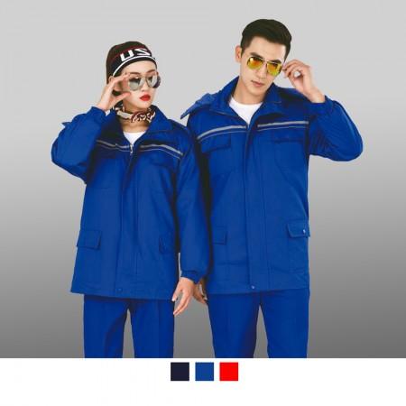 【晶輝】CH242-工廠汽車修護電焊耐髒耐磨長袖工作服(外套)