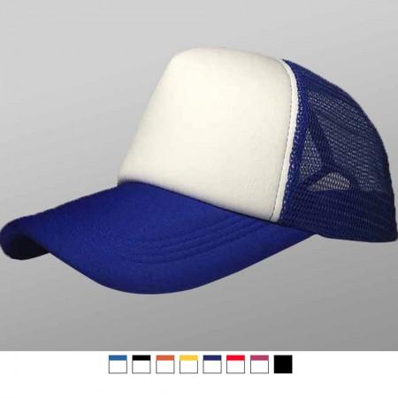 【晶輝團服制服】LS-0111*海棉卡車司機網帽,平板帽,訂團體定制空白光板logo廣告帽子定做貨車帽