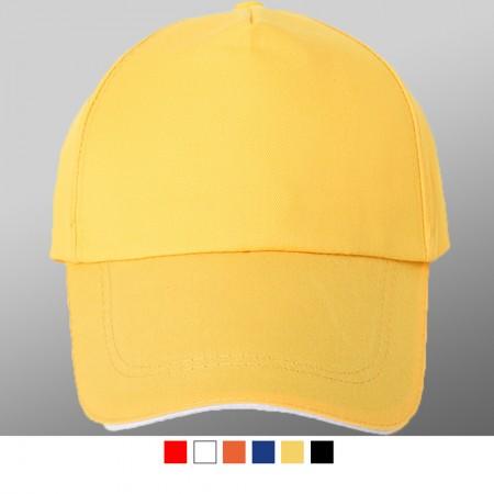 【晶輝團服制服】LS-0112*兒童全棉帽子網帽,平板帽,訂團體定制空白光板logo廣告帽子定做貨車帽