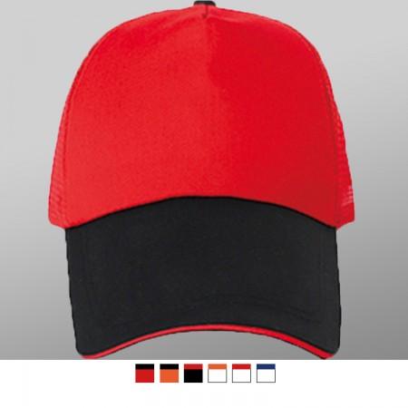 【晶輝團服制服】LS-0903*拚色網帽,街舞帽,平板帽,訂做客製配色都可以