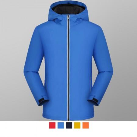 【晶輝團服制服】MF003*休閒單件式防風防潑水衝鋒外套(似GORE-TEX)可單買/ 代印公司LOGO