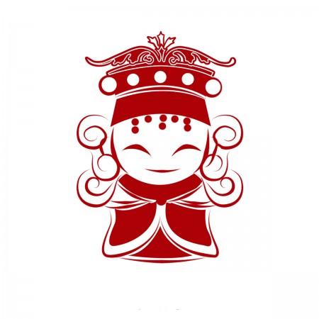 【晶輝團體制服】Q8021-Q版媽祖圖