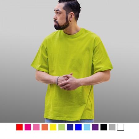 【晶輝】T0412-吸濕排汗百搭素面T恤