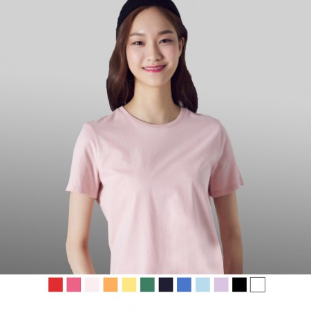 【晶輝】T0917-MIT全素面百搭基本短袖T恤
